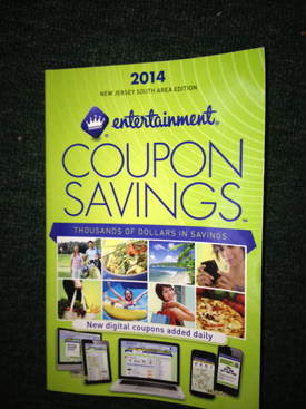 Kiwanis selling 2014 Entertainment Books